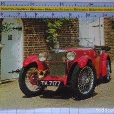 Postales: POSTAL DE COCHES MOTOS. MG D DE 1931 . 1658. Lote 210426146