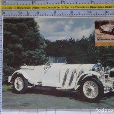 Postales: POSTAL DE COCHES MOTOS. MERCEDES BENZ SSK DE 1928 . 1659. Lote 210426173