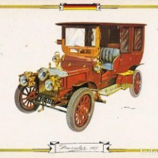 Postales: POSTAL DE COCHE CLASICO ALEMANIA DAIMLER 1905. Lote 210938817
