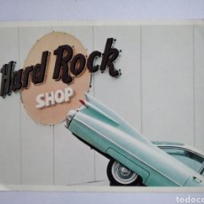 Postales: POSTAL HARD ROCK SHOP BARCELONA. Lote 212304607
