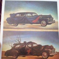 Postales: SALVADOR DALÍ: CLOTHED AUTOMOBILE, 1941, TASCHEN. Lote 213384118