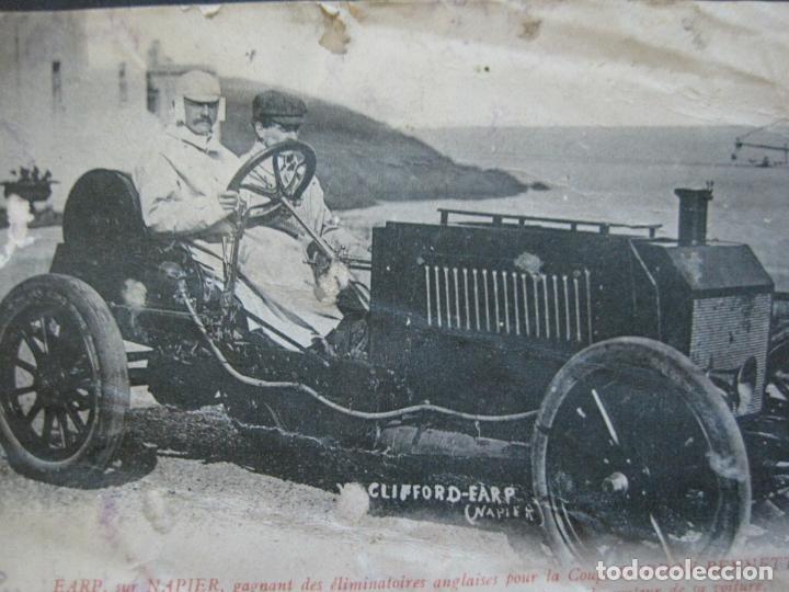 Postales: CLIFFORD EARP-NAPIER-COCHE-PILOTS DE CARRERAS-VER FOTOS-(73.463) - Foto 2 - 214947913