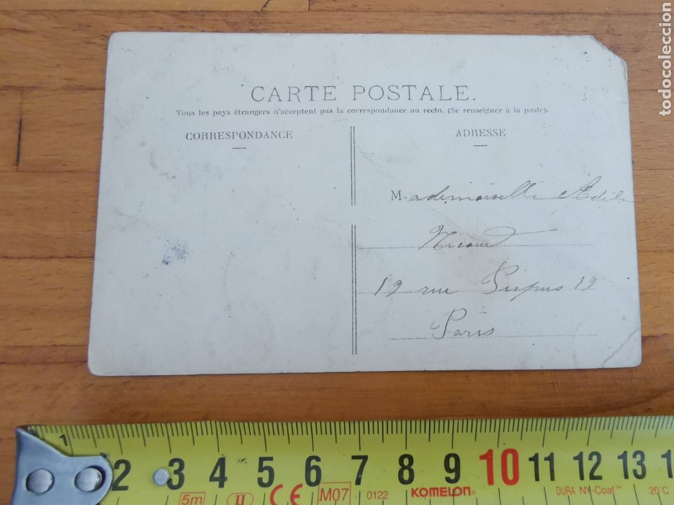 Postales: Postal de Auvergne, copa Gordon Bennett 1905. Francia Rally coches. Nº14 Col Moreno - Foto 4 - 215994228
