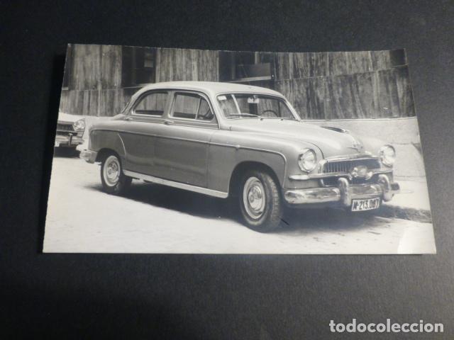 MADRID AUTOMOVIL SEAT 1400 FOTOGRAFIA TAMAÑO POSTAL 1959 (Postales - Postales Temáticas - Coches y Automóviles)