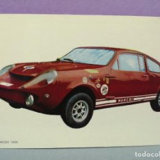 Postales: POSTAL COCHE MARCOS 1000. Lote 217413281