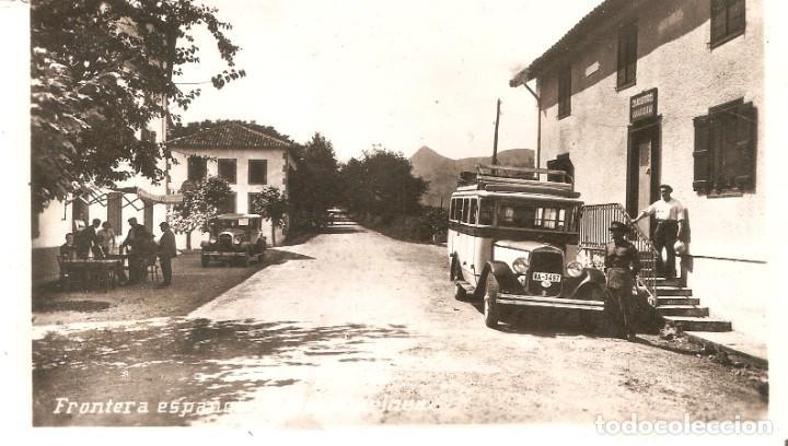 DANCHARINEA FRONTERA AUTOBUS DE LA ZONA S.C. (Postales - Postales Temáticas - Coches y Automóviles)