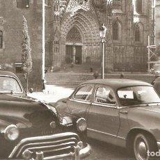 Postales: BARCELONA Nº86 LA CATEDRAL SOBERANA COCHES S.C.. Lote 218475980