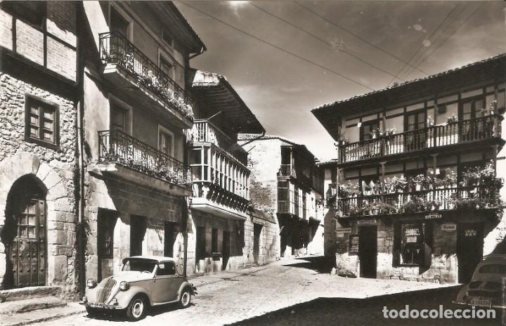 Postales: SANTILLANA DEL MAR 10 PZA. SANTO DOMINGO COCHE - Foto 2 - 218479503