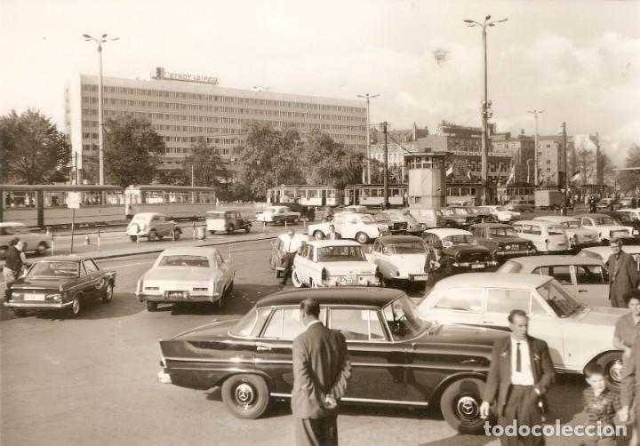LEIPZIG HOTEL STADT VISTA DE VEHICULOS S.C. (Postales - Postales Temáticas - Coches y Automóviles)