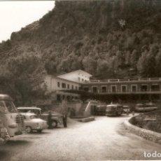 Postales: MALLORCA HOTEL DE LA CALOBRA TRUYOL VEHICULOS APARCADOS. Lote 218483090