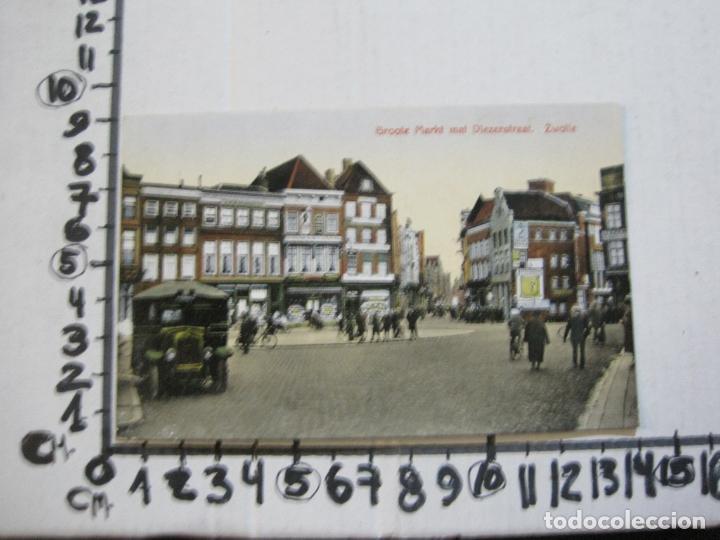 Postales: ZWOLLE-GROOTE MARKT MAT DIEZERSTRAAT-COCHE CAMIONETA-POSTAL ANTIGUA-VER FOTOS-(74.141) - Foto 5 - 218532915