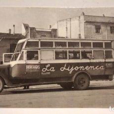 Postales: POSTAL CAMBRILS 1964 , AUTO DE LINEA DE MONTBRIÓ DEL CAMP, Nº4288, ED. EUROFER-AMICS DEL FERROCARRIL. Lote 218571558