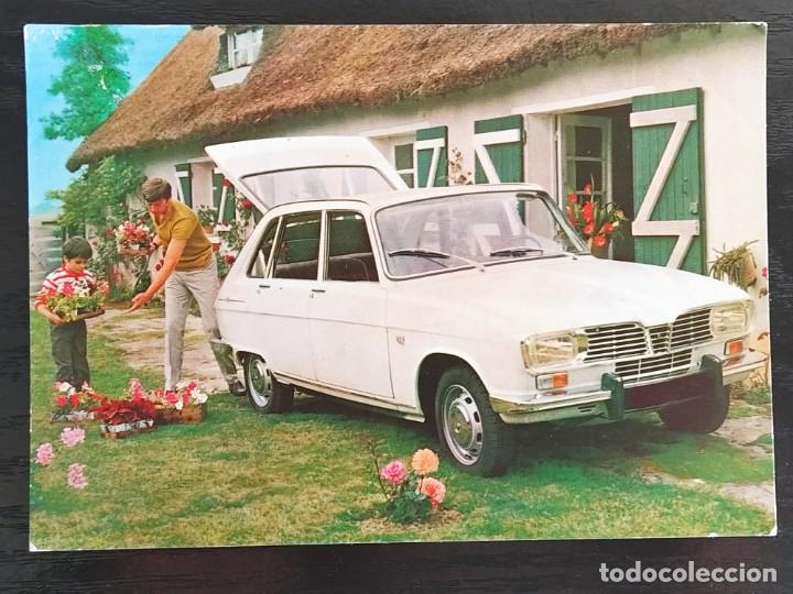 TARJETA POSTAL DE COCHES, RENAULT 16 TS (Postales - Postales Temáticas - Coches y Automóviles)
