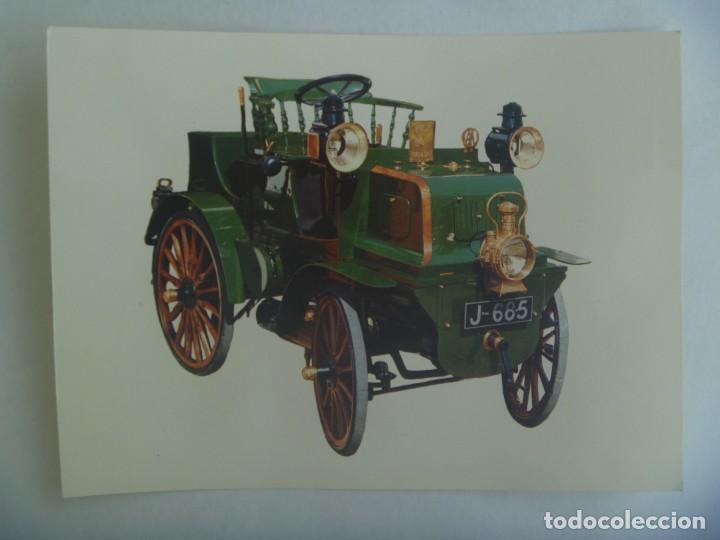 POSTAL GIGANTE DE COCHE ANTIGUO : ENGLISH DAIMLER ( 1897 ) ... 15 X 21 CM (Postales - Postales Temáticas - Coches y Automóviles)