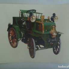 Postales: POSTAL GIGANTE DE COCHE ANTIGUO : ENGLISH DAIMLER ( 1897 ) ... 15 X 21 CM. Lote 218744420