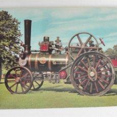 Postales: POSTAL2045 NUEVA - DENNIS ITEM NO.5 90 - TRACTION ENGINE SERIES D.218 - LOCOMOVIL AUTOMOVIL ENGLAND. Lote 220303067