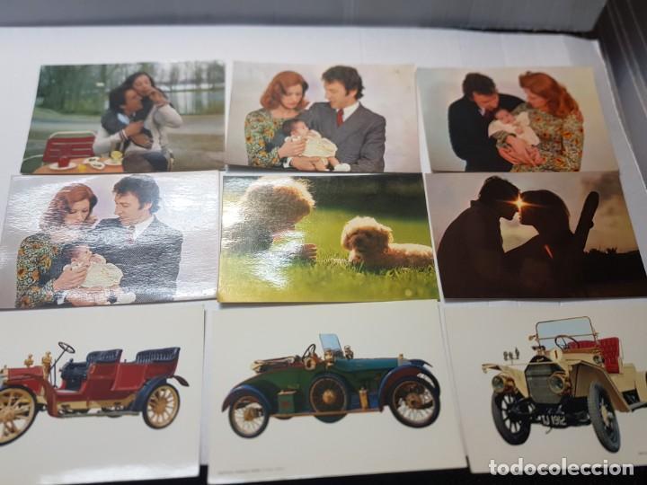 Postales: Postales antiguas CyZ lote 65 varios temas coches,etc - Foto 2 - 220629355