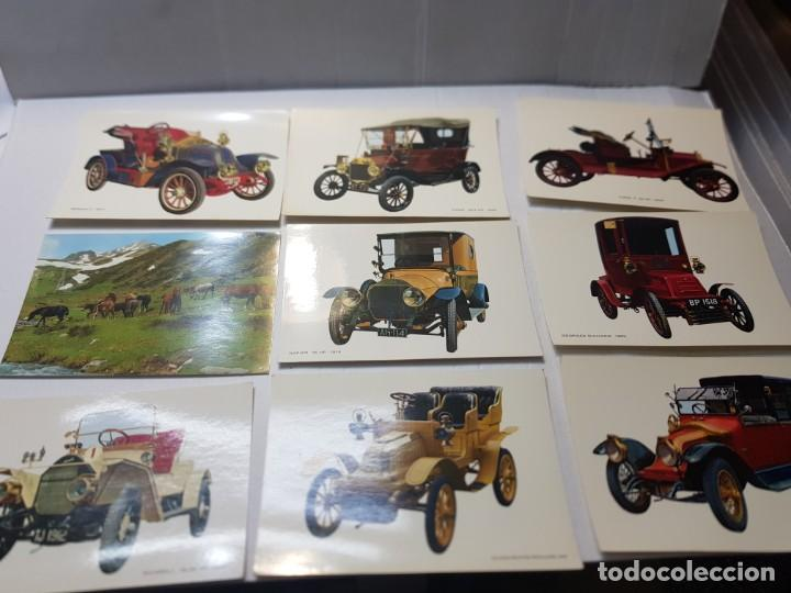 Postales: Postales antiguas CyZ lote 65 varios temas coches,etc - Foto 6 - 220629355
