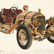 Postales: ANTIGUA POSTAL DIBUJO DEL AUTOMÓVIL ROCHET SCHNEIDER. SEGUNDA MITAD DE LOS SESENTA.. Lote 221576923
