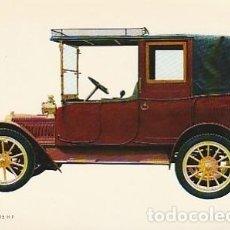 Postales: ANTIGUA POSTAL DIBUJO DEL AUTOMÓVIL ADLER 1912. SEGUNDA MITAD DE LOS SESENTA.. Lote 221577208