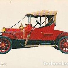 Postales: ANTIGUA POSTAL DIBUJO DEL AUTOMÓVIL LA LICORNE 1912. SEGUNDA MITAD DE LOS SESENTA.. Lote 221578137