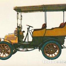 Postales: ANTIGUA POSTAL DIBUJO DEL AUTOMÓVIL DE DION BOUTON 1902. SEGUNDA MITAD DE LOS SESENTA. (2). Lote 221578298