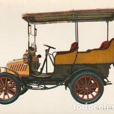 Postales: ANTIGUA POSTAL DIBUJO DEL AUTOMÓVIL DE DION BOUTON 1902. SEGUNDA MITAD DE LOS SESENTA. 1. Lote 221578623