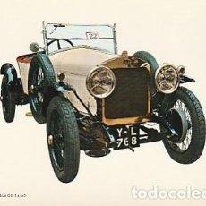 Postales: ANTIGUA POSTAL DIBUJO DEL AUTOMÓVIL FRENCH 1924. SEGUNDA MITAD DE LOS SESENTA. (2). Lote 221579236