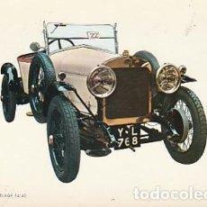 Postales: ANTIGUA POSTAL DIBUJO DEL AUTOMÓVIL FRENCH 1924. SEGUNDA MITAD DE LOS SESENTA.. Lote 221579301