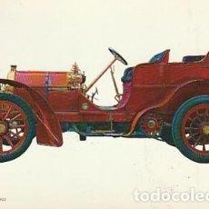 Postales: ANTIGUA POSTAL DIBUJO DEL AUTOMÓVIL MERCEDES 8. SEGUNDA MITAD DE LOS SESENTA. 2. Lote 221579823