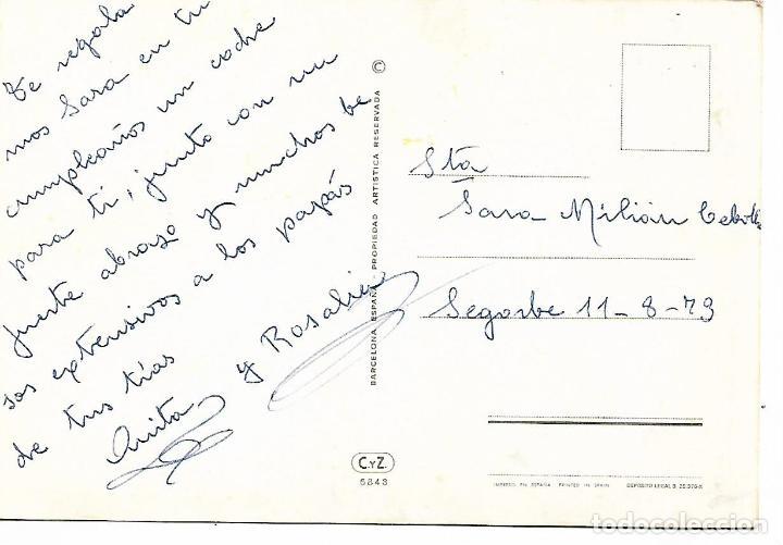 Postales: POSTAL COCHE ANTIGUO FIAT 1901 - Foto 2 - 222331436