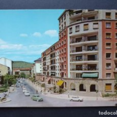 Postales: FUENTERRABIA - HONDARRIBIA GUIPÚZCOA POSTAL ORIGINAL COLOR - SEAT 850 COUPE 1400 DAUPHINE. Lote 223912640