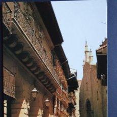 Postales: FUENTERRABIA - HONDARRIBIA GUIPÚZCOA POSTAL ORIGINAL COLOR - RENAULT 4 F VESPA. Lote 223913366