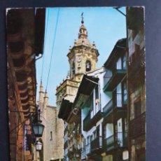 Postales: FUENTERRABIA - HONDARRIBIA GUIPÚZCOA POSTAL ORIGINAL COLOR - FIAT. Lote 223913735