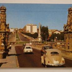 Cartes Postales: VOLKSWAGEN ESCARABAJO / BEETLE - MADRID PUENTE DE TOLEDO - LMX - AUTO2. Lote 224007537