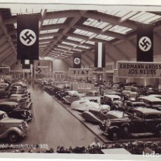 Postales: ALEMANIA EXPOSICIÓN DE 1935 DE COHES. Lote 224450545