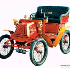 Postales: COCHE GEORGES RICHARD 3'5 HP 1 CILINDRO DE 1900, POSTAL ESPAÑOLA. Lote 230714035