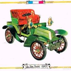 Postales: DE DION BOUTON DE 1903, POSTAL ESPAÑOLA. Lote 230714355