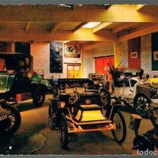 Postales: MUSEO DE AUTOMOVILES ANTIGUOS DE CLERES (FGRANCIA), RENAULT DE 1902 Y UNIC DE 1908 (MOTOR BUGATTI). Lote 230717775
