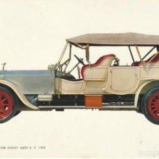 Postales: POSTAL ROLLS ROYCE SILVER GHOST 40 / 50 H.P. 1909. Lote 233173795