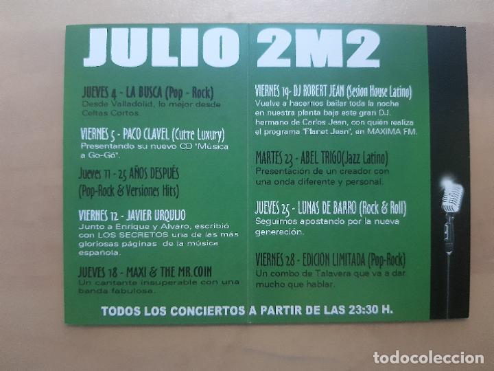 Postales: FLYER INVITACION DESCUENTO ENTRADA DISCOTECA SALA AMOR BRUJO 2002 MADRID - Foto 2 - 234059180