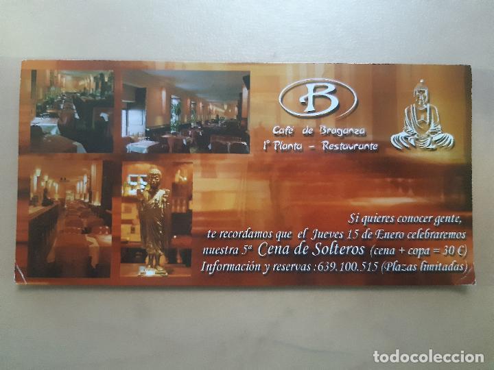 Postales: FLYER INVITACION DESCUENTO ENTRADA DISCOTECA SALA BRAGANZA MADRID - Foto 2 - 234059335