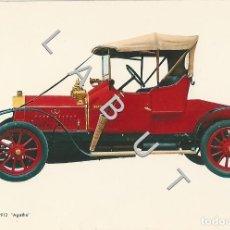 Postales: LA LAICORNE 1912 AGATHE HISTORIA DEL AUTOMOVIL POSTAL C43. Lote 234929860
