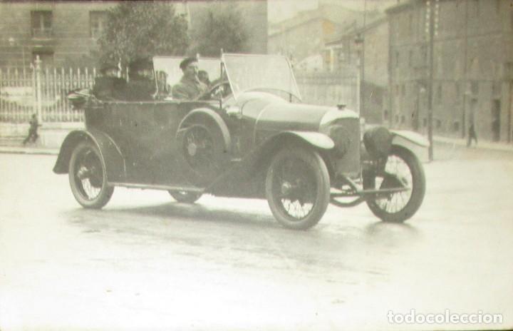 Postales: POSTAL FOTOGRÁFICA DE AUTOMÓVIL FRANCÉS EN LA PRIMERA GUERRA MUNDIAL. 1918. - Foto 2 - 235183280