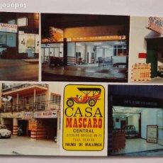 Cartes Postales: SEAT 600 - PALMA DE MALLORCA CASA MASCARO ALQUILER DE COCHES - P45186. Lote 238711585