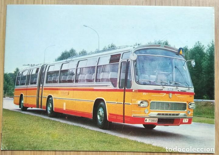 AUTOCAR PEGASO 6031 A (Postales - Postales Temáticas - Coches y Automóviles)