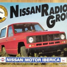 Postales: NISSAN MOTOR IBERICA - NISSAN RADIO GROUP. Lote 239850940
