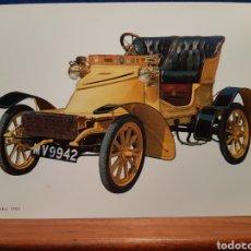 Postales: ANTIGUA POSTAL DE UN COCHE VAUXHALL 1905. Lote 243889740