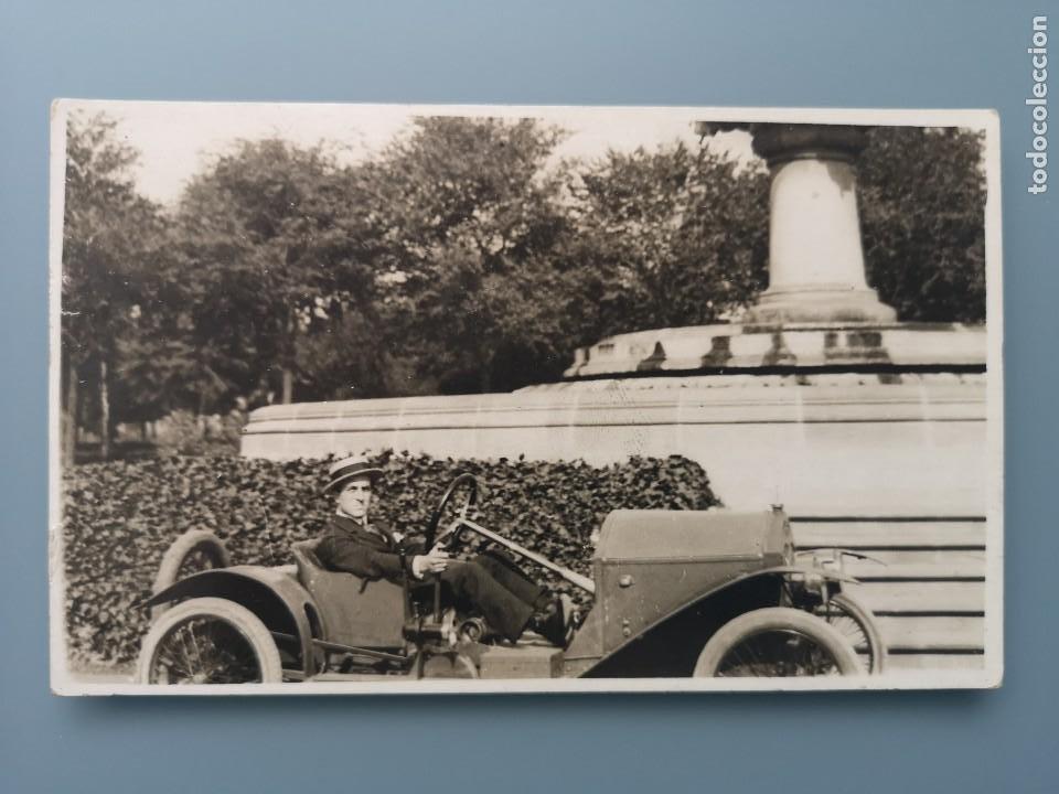 POSTAL FOTOGRAFICA COCHE AUTOMOVIL PERFECTA CONSERVACION. EN TORNO A 1910 1915 (Postales - Postales Temáticas - Coches y Automóviles)