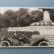 Postales: POSTAL FOTOGRAFICA COCHE AUTOMOVIL PERFECTA CONSERVACION. EN TORNO A 1910 1915. Lote 245541705